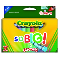 CRAYONES SO BIG! CRAYOLA